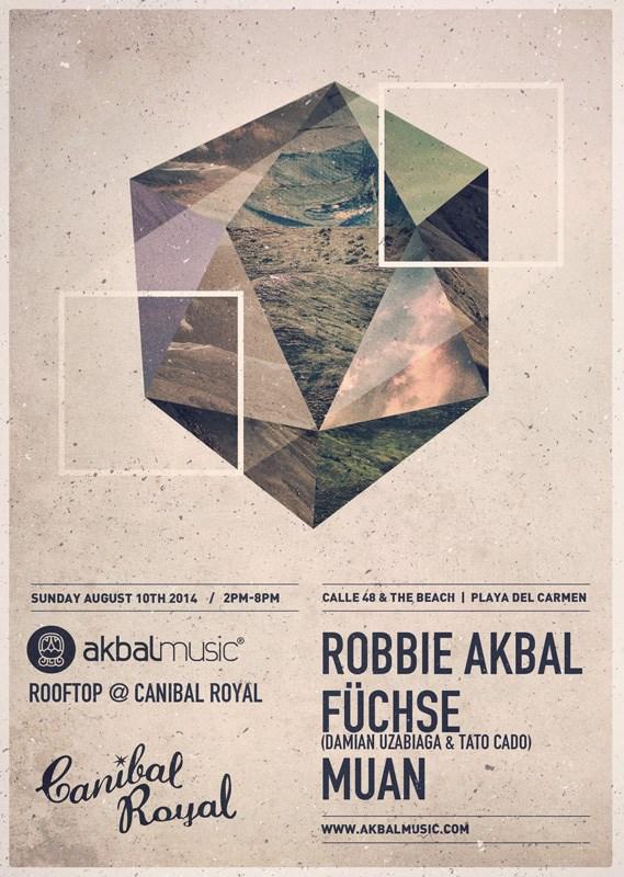Akbal Music Rooftop @ Canibal Royal