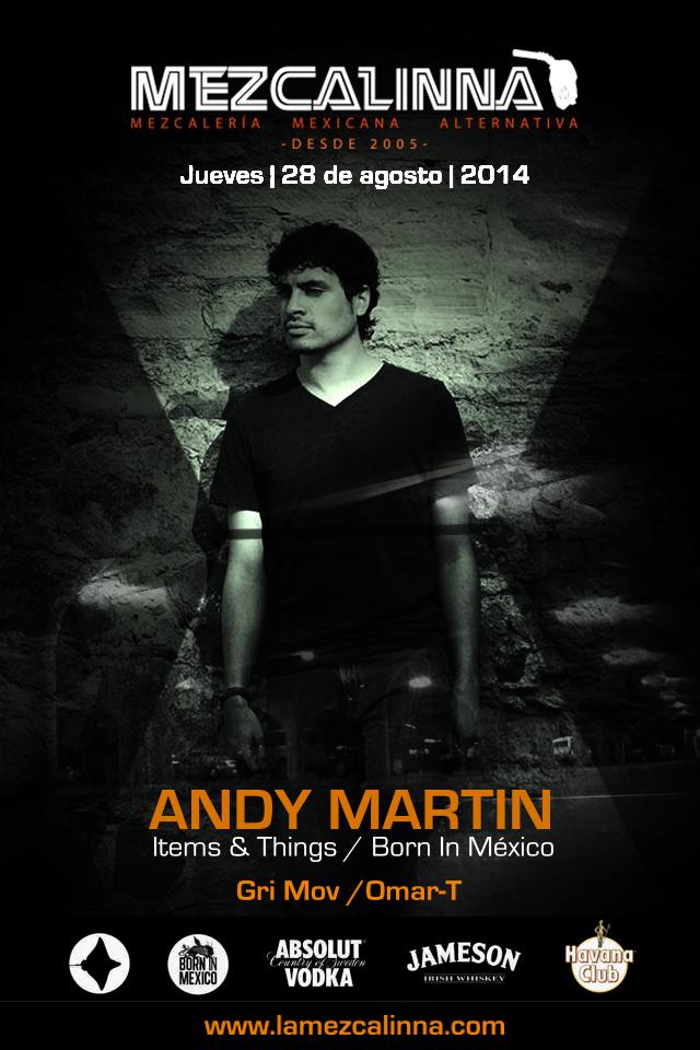 Andy Martin @ La Mezcalinna
