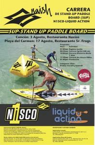 Carrera N1SCO Sup-stand Up Paddle Board @ Playa del Carmen