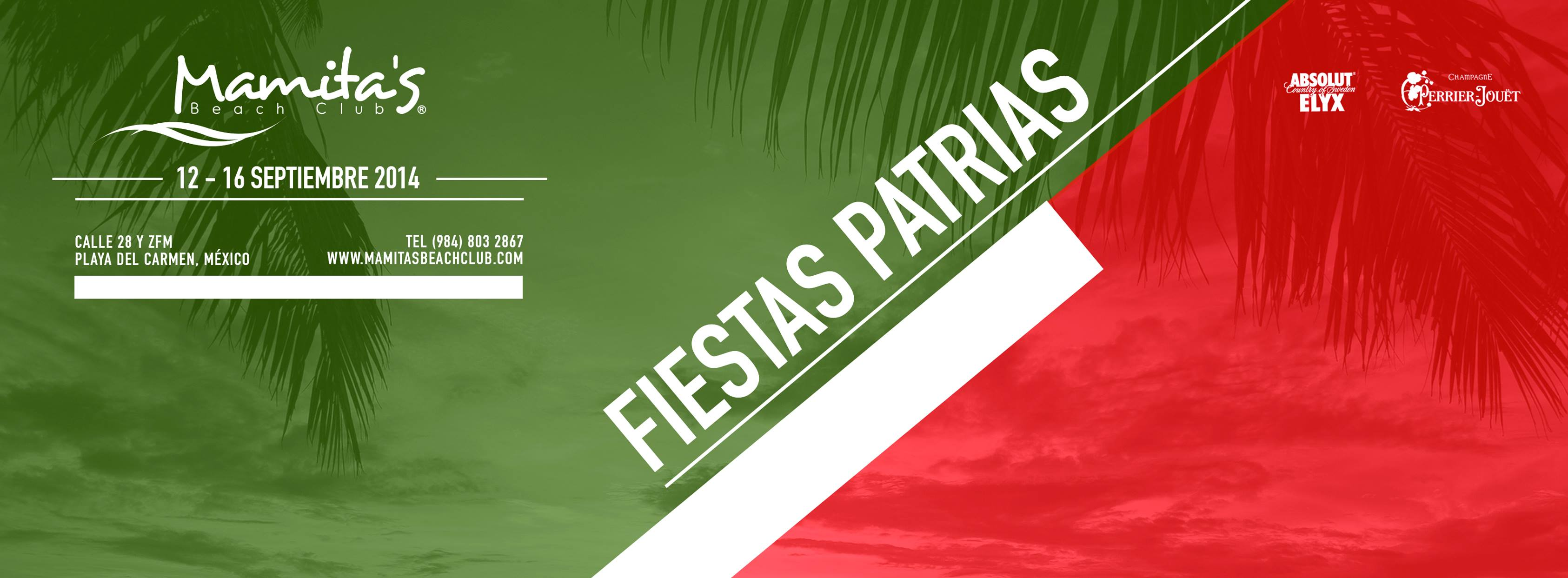 Fiestas Patrias 20144 @ Mamitas Beach Club