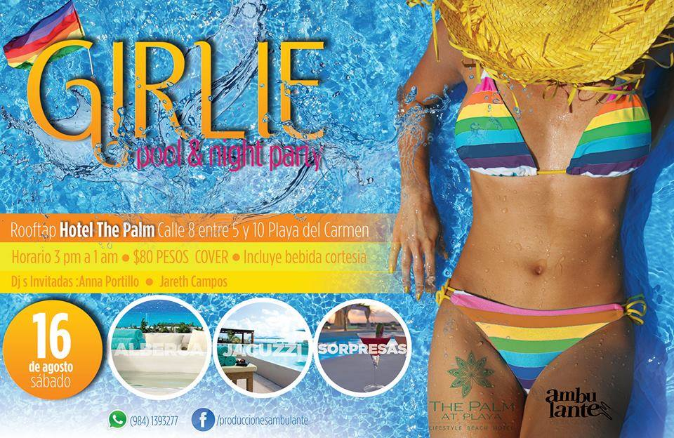 Girlie - Pool & Night Party @ The Palm