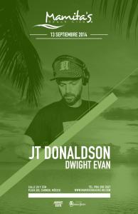 JT Donaldson - Fiestas Patrias 2014 @ Mamitas Beach Club
