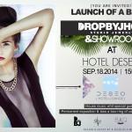Presentación : Drop by JHOQ @ Hotel Deseo