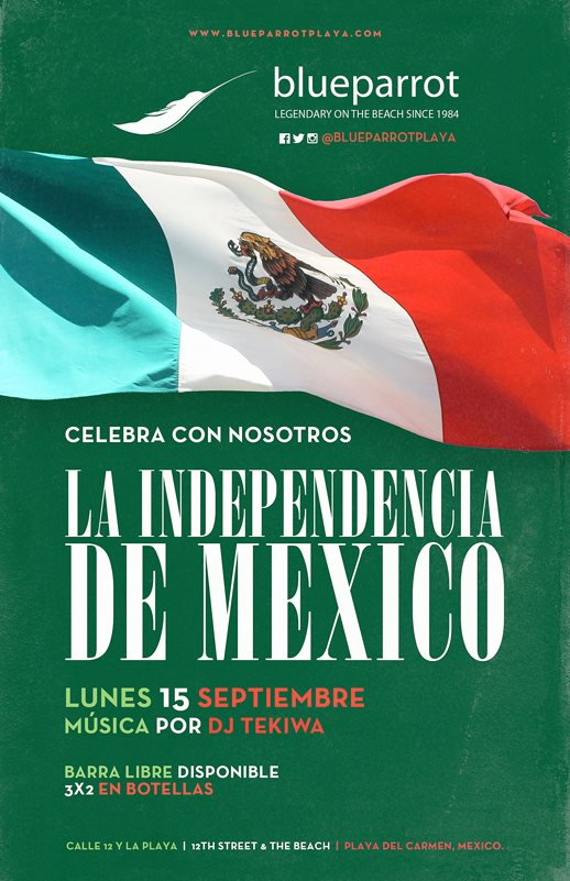 Fiesta de Independencia @ Blue Parrot