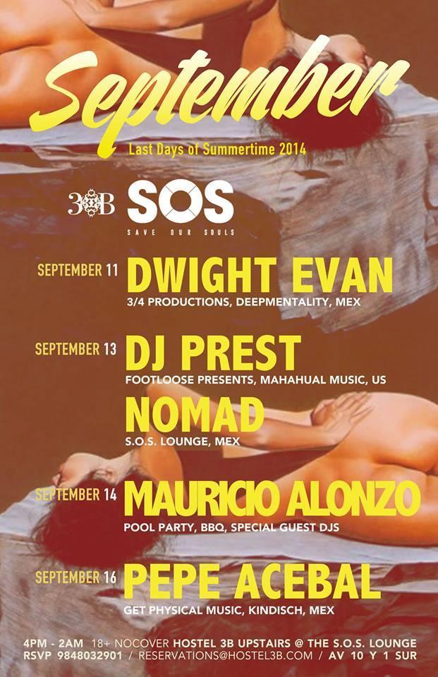 Fiestas Patrias @ SOS Lounge