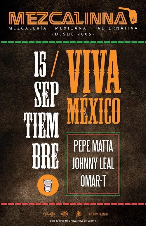 Fiesta de Independencia - Viva México @ La Mezcalinna