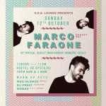 Marco Faraone @ Hostel 3B