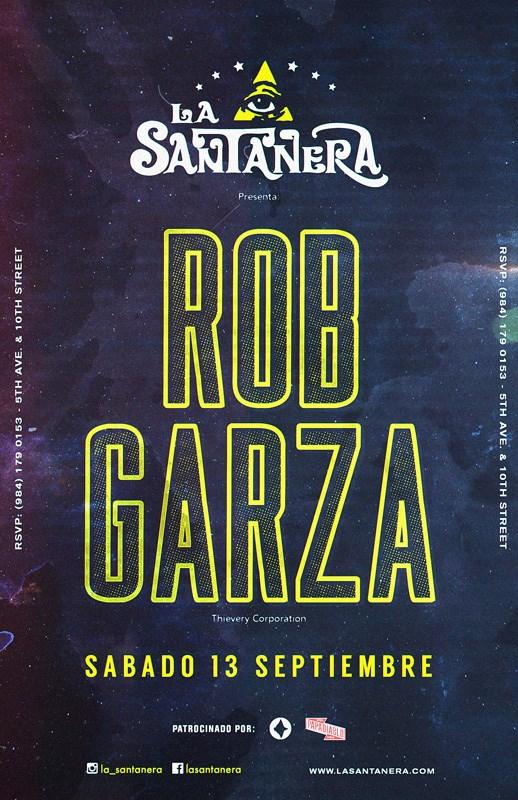 Rob Garza @ La Santanera