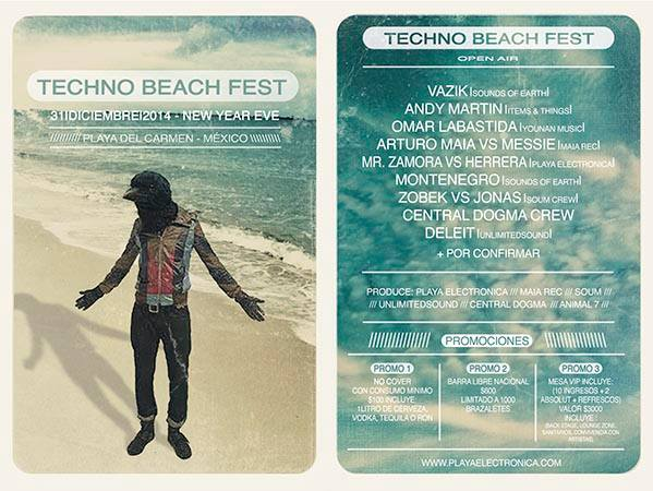 Techno Beach Fest @ Playa del Carmen