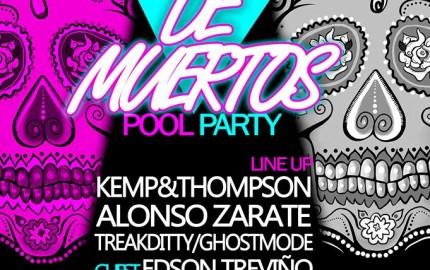 Día de Muertos Pool Party @ The Palm at Playa