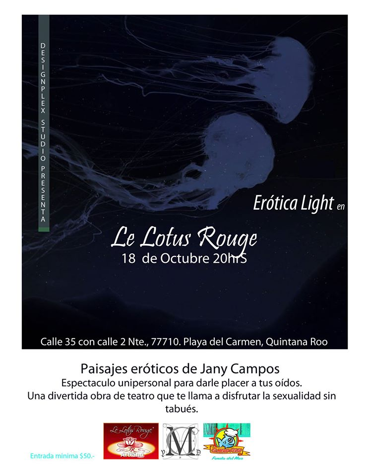 Erótica Light @ Le Lotus Rouge