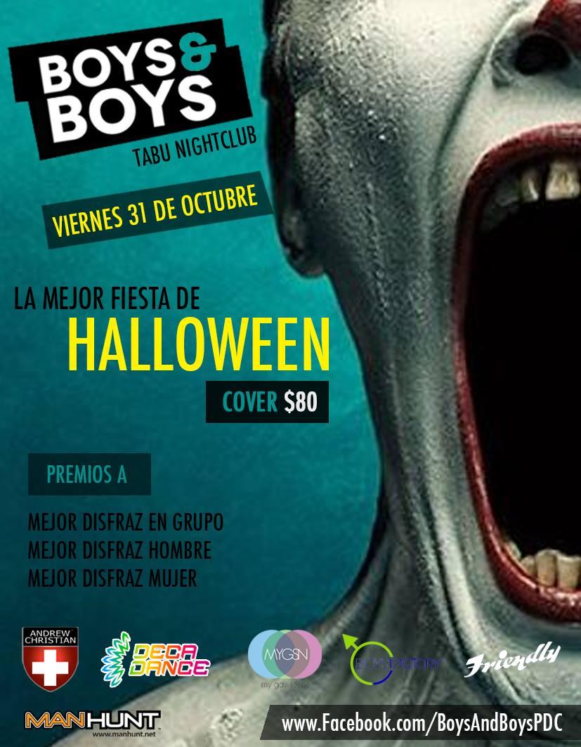 Fiesta de Halloween - Boy & Boys @ Tabu