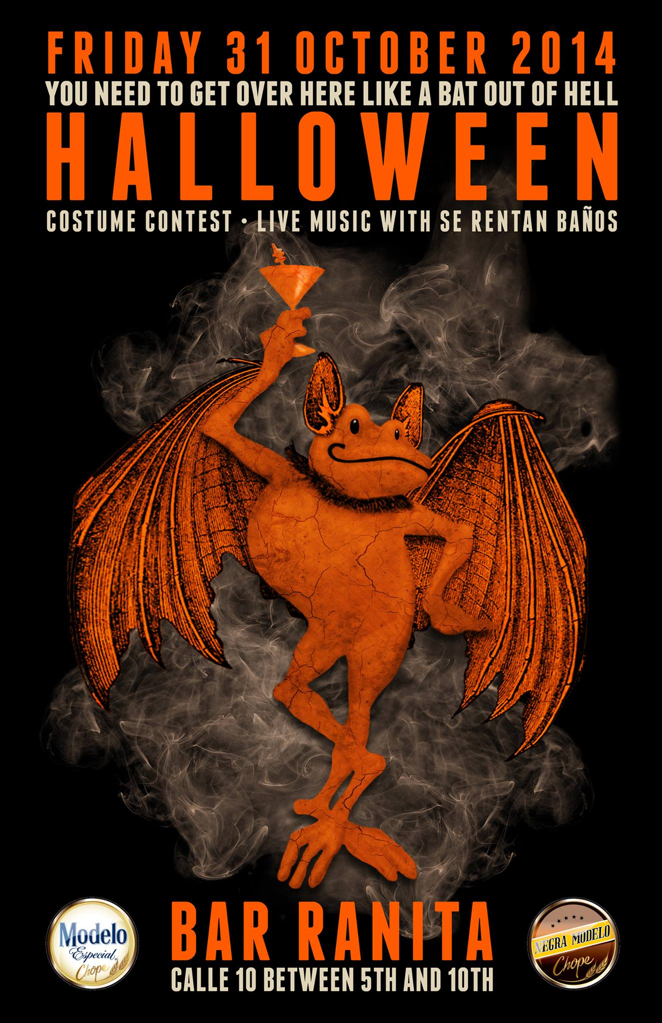 Halloween Costume Party @ Bar Ranita