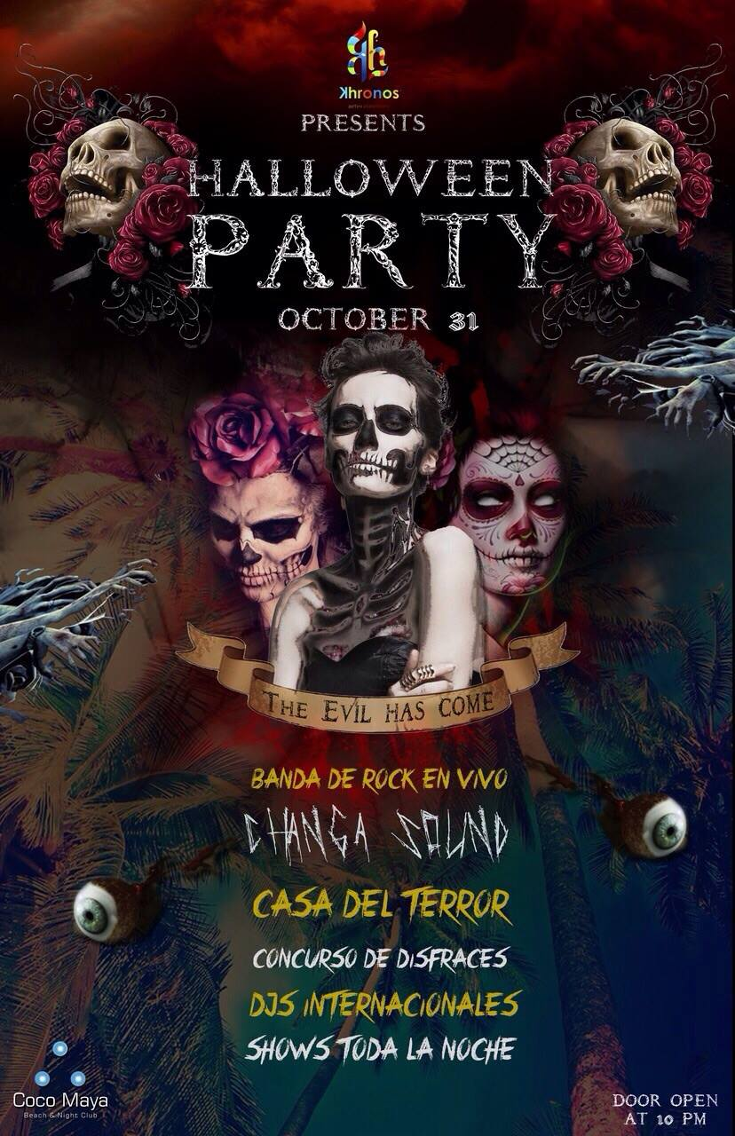 Halloween Party @ Coco Maya