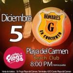 Hombres G @ Sr. Frogs - Playa del Carmen