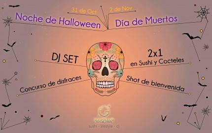 Noche de Halloween y Día de Muertos @ Sushi Club