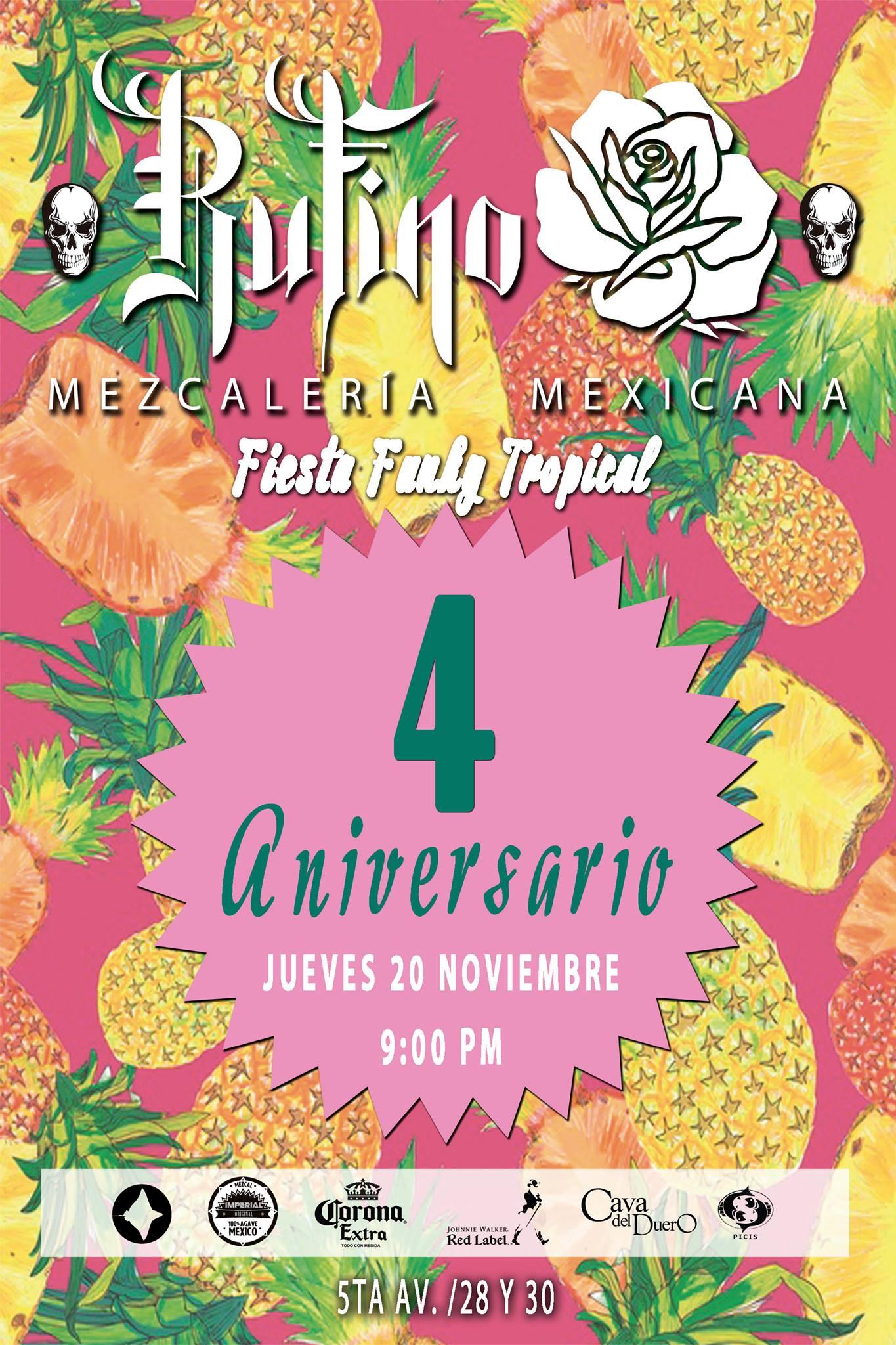 Fiesta de Aniversario de Rufino Mezcalería