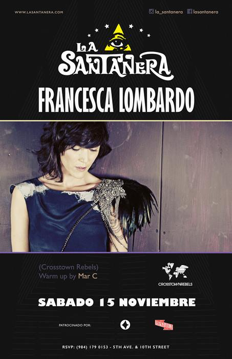 Francesca Lombardo @ La Santanera
