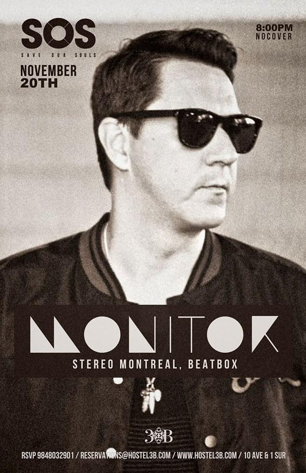 Monitor @ Hostal 3B