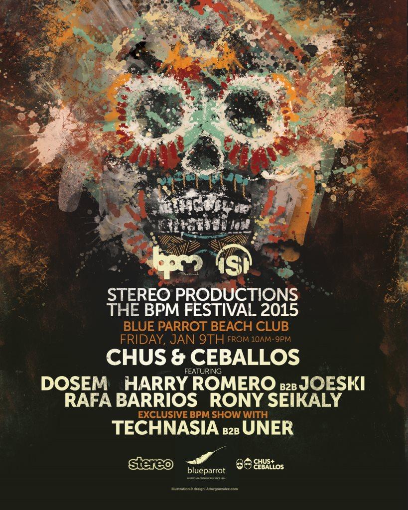 Stereo Showcase @ BPM Festival 2015 - Playa del Carmen