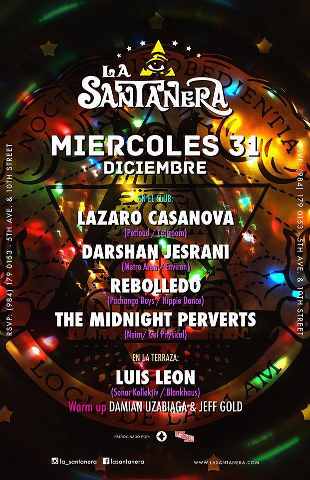 Fiesta de Año Nuevo en La Santanera