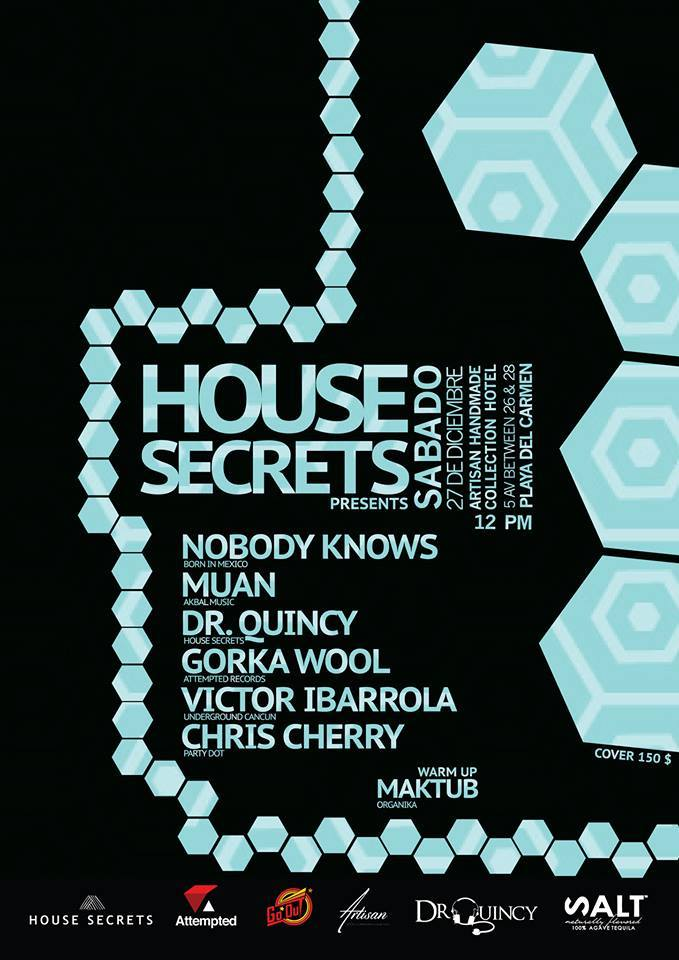 House Secrets @ Artisan Hotel