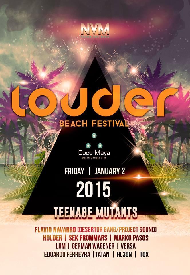 Louder Beach Festival @ Coco Maya