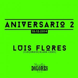 Segundo Aniversario de Dolores YucaBar