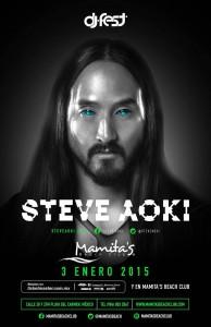 Steve Aoki @ Dj Fest - Mamitas Beach Club