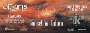 Sunset in Tulum @ La Eufemia