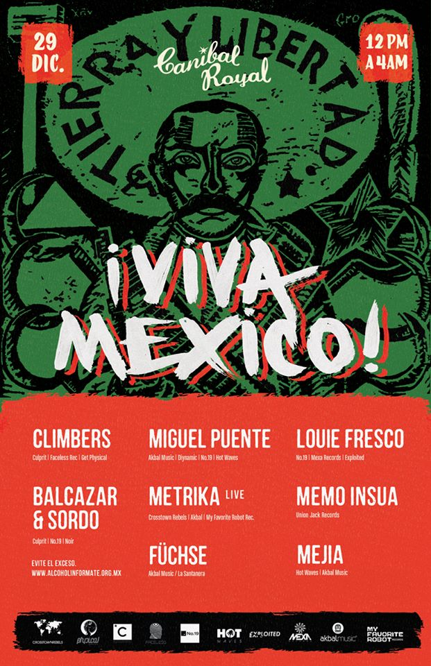 Viva México @ Canibal Royal