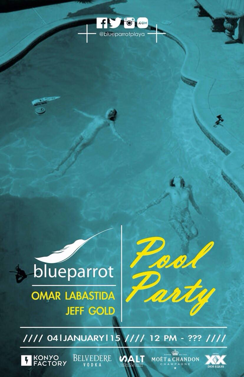 Pool Party @ Blue Parrot