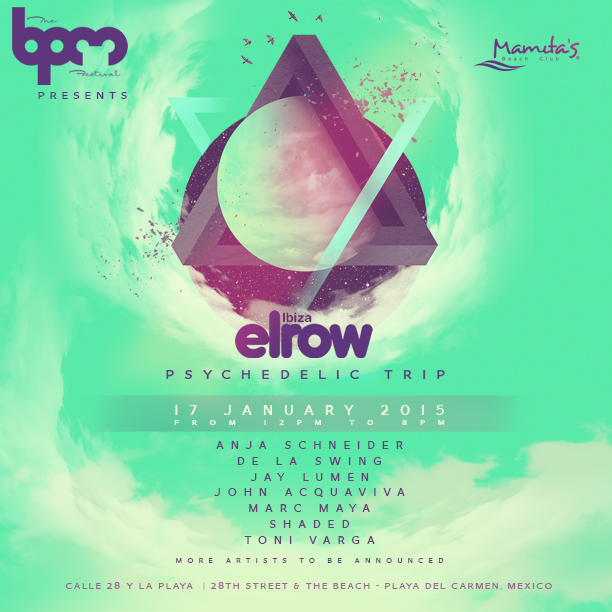 elrow @ Mamitas Beach Club - BPM 2015