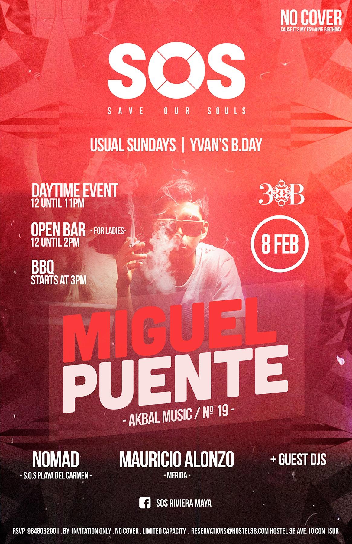 Miguel Puente @ SOS Lounge
