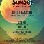 Sunset Sound System @ Papaya Playa Project - Tulum