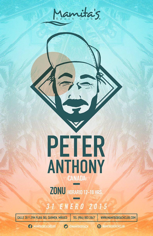 Peter Anthony @ Mamitas Beach Club