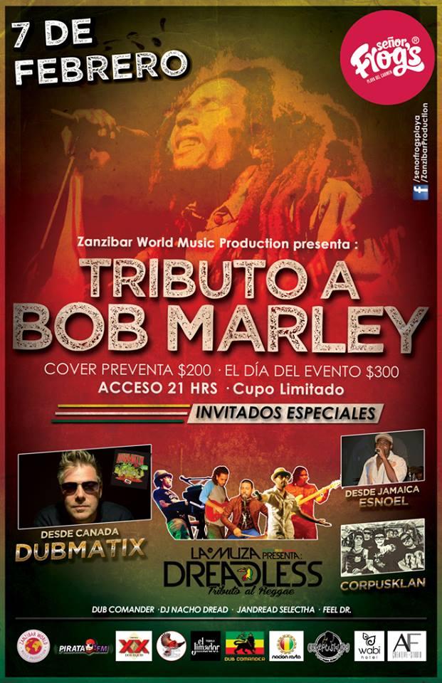 Tributo a Bob Marley @ Sr. Frogs