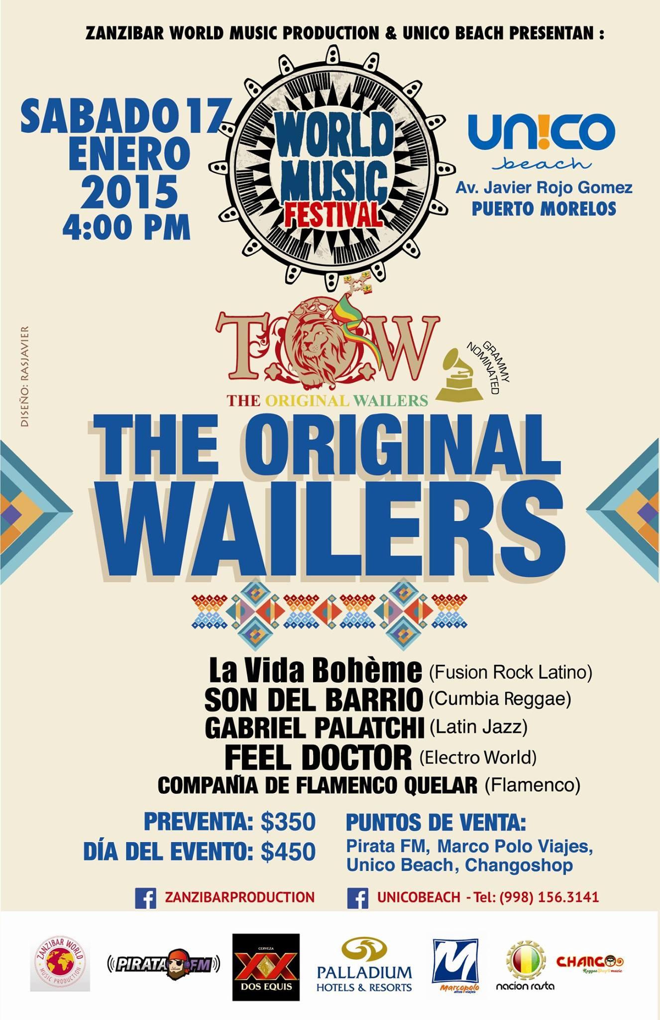 World Music Festival @ Unico Beach - Puerto Morelos