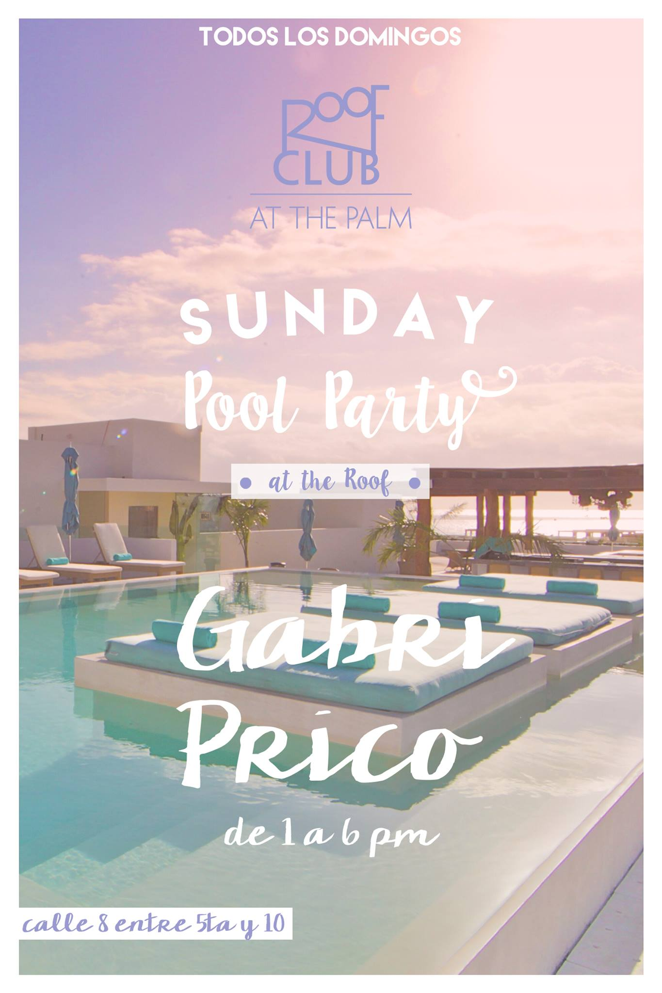 Pool Party @ Roof Club