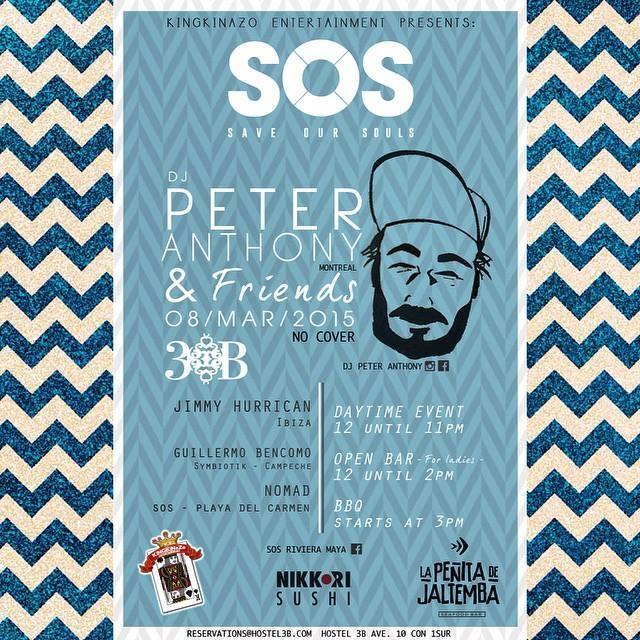 Peter Anthony @ SOS Lounge