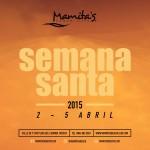 Semana Santa 2015 @ Mamitas Beach Club - Playa del Carmen