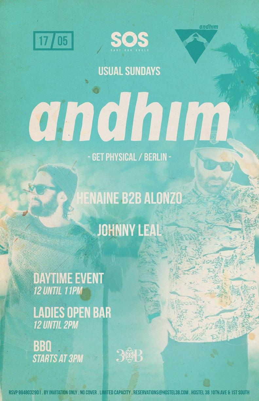 Andhim @ SOS Lounge