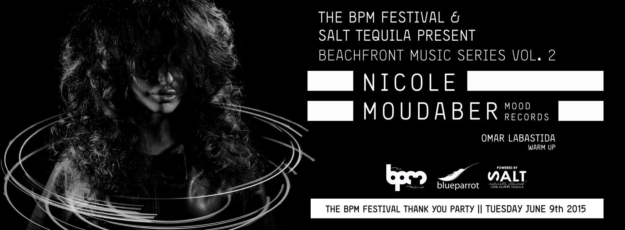 Nicole Moudaber @ Blue Parrot - Playa del Carmen