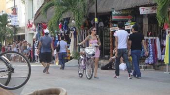 Paseo en Bici en Playa del Carmen