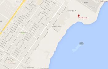 Mapa Punta Esmeralda - Playa del Carmen