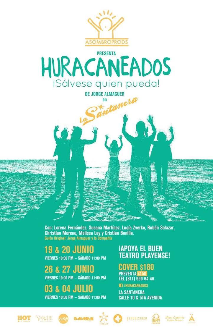 Obra de Teatro : Huracaneados @ La Santanera