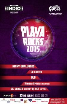 Playa Rocks 2015 @ Sr. Frogs - Playa del Carmen