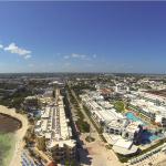 Playa del Carmen From The Sky