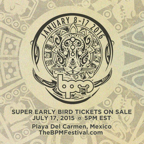 The BPM Festival 2016 @ Playa del Carmen