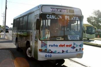 Camion de Playa del Carmen a Tulum